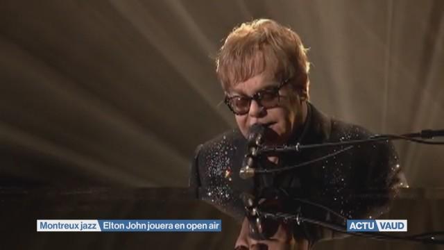 Elton John jouera en open air à Montreux