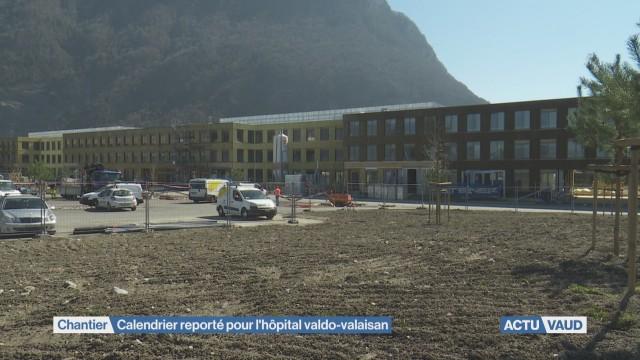 Report dans le déménagement de l'Hôpital Riviera-Chablais