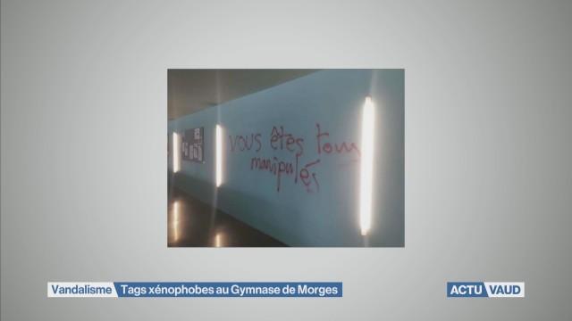Gymnase vandalisé