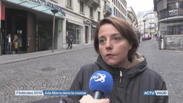Ada Marra candidate au Conseil des Etats