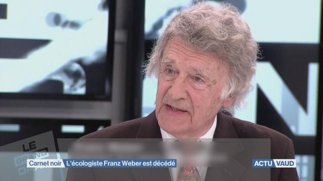 L'écologiste Franz Weber est décédé à l'âge de 91 ans