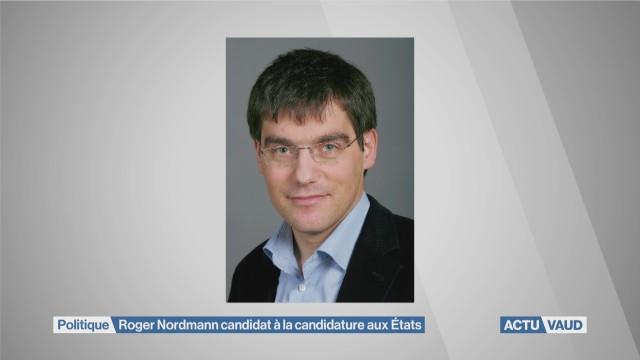 Roger Nordmann candidat à la candidature aux Etats