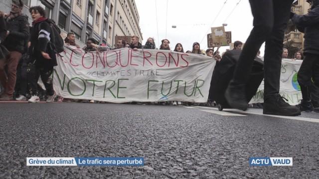 Trafic perturbé pour la nouvelle grève du climat