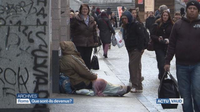 Les Roms disparus après l'interdiction de la mendicité ?