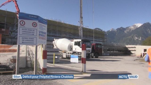 Déficit pour l'Hôpital Riviera-Chablais