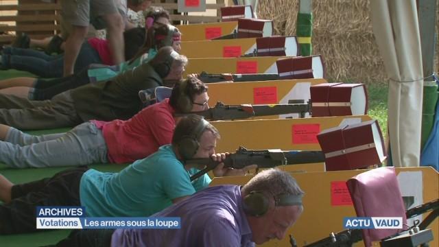 La campagne pour la votation sur les armes s'accélère