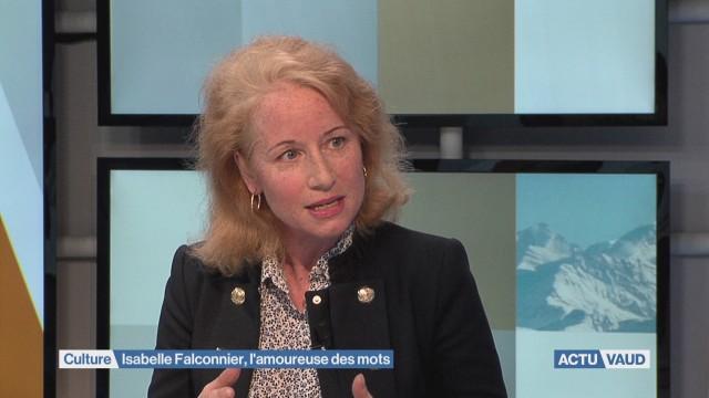 Isabelle Falconnier, l'amoureuse des mots