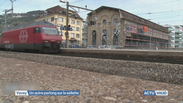 Parking à Vevey: le plan B contesté