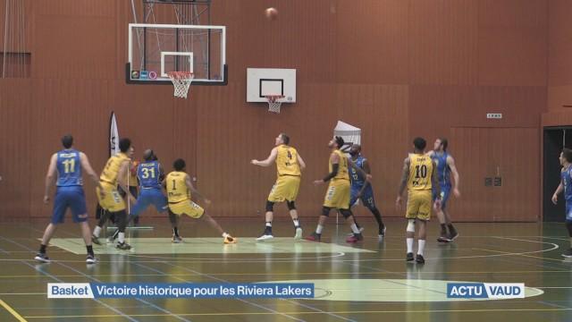 Les Riviera Lakers passent en demi-finale