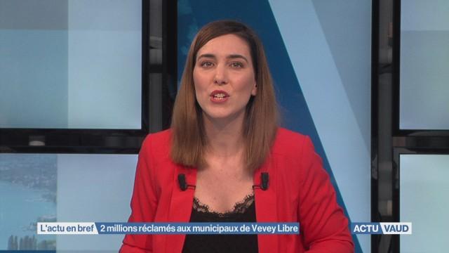Vevey réclame deux millions à Agnant et Christen