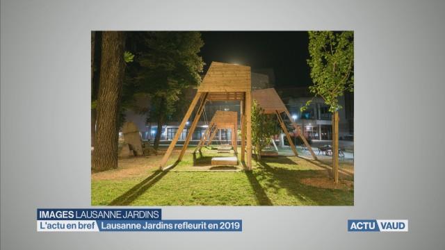 Lausanne Jardins refleurira au mois de juin