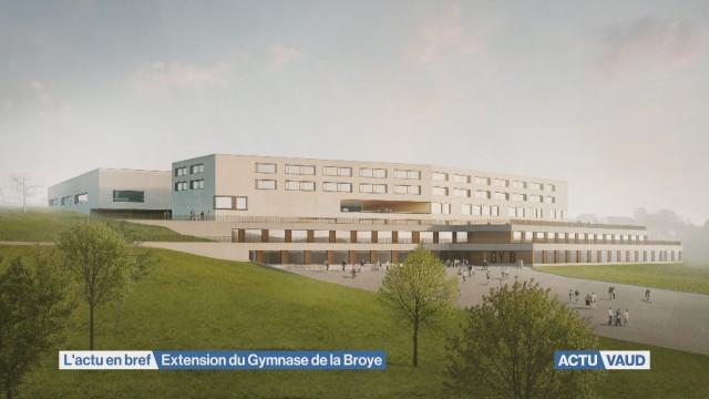 Agrandissement du gymnase de Payerne