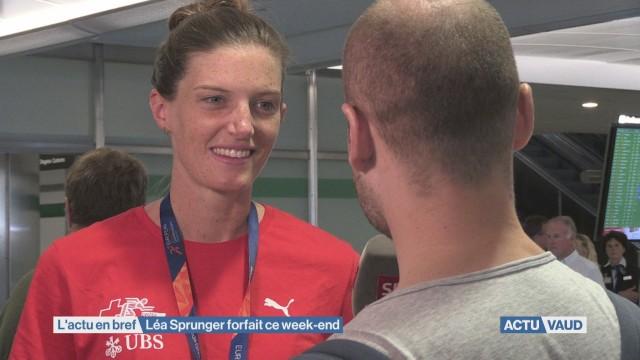 Léa Sprunger n'ira pas en Belgique