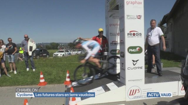 Le Tour du Pays de Vaud cycliste a débuté!