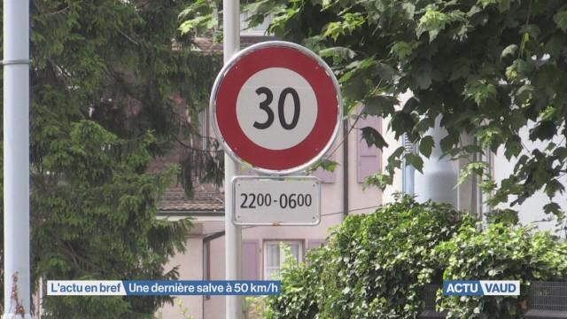 Une dernière salve à 50 km/h