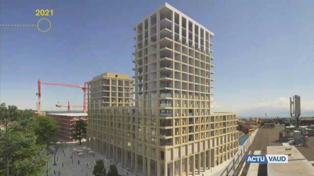Morges poursuit son développement urbain