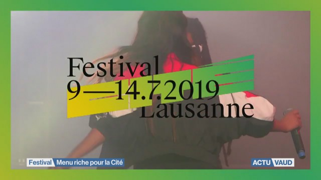 Menu riche pour le festival de la Cité