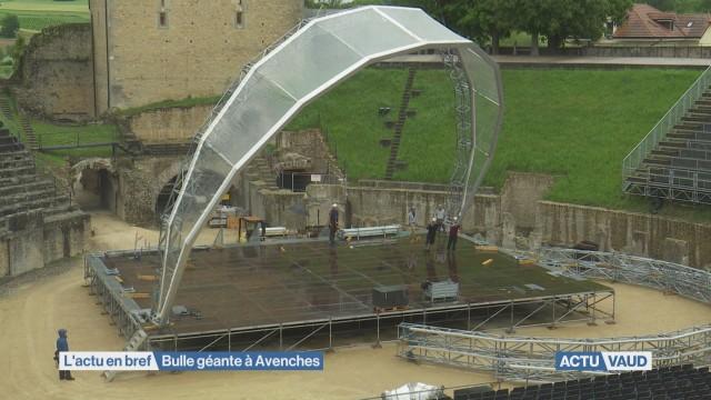 Une bulle géante à Avenches