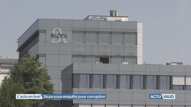Sicpa sous enquête pour corruption