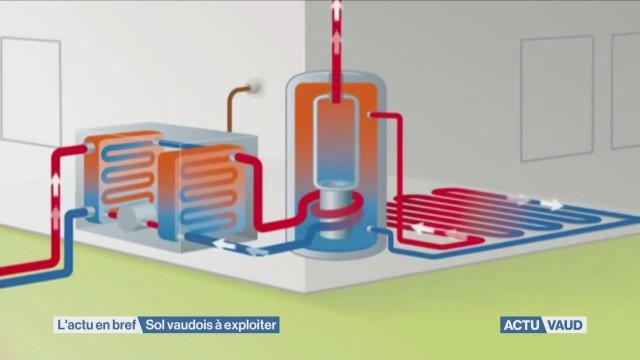Vaud riche en géothermie