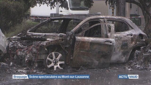 Nouvelle attaque de fourgon blindé au Mont-sur-Lausanne