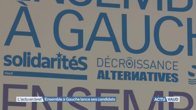 Fédérales : Ensemble à Gauche dans la course