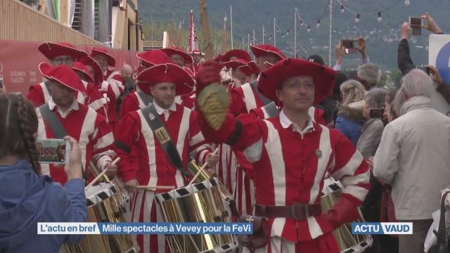 Fête des Vignerons: mille spectacles à Vevey