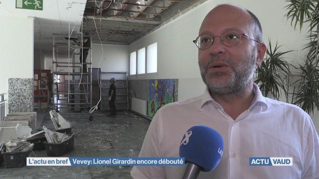 Vevey: Lionel Girardin à nouveau débouté