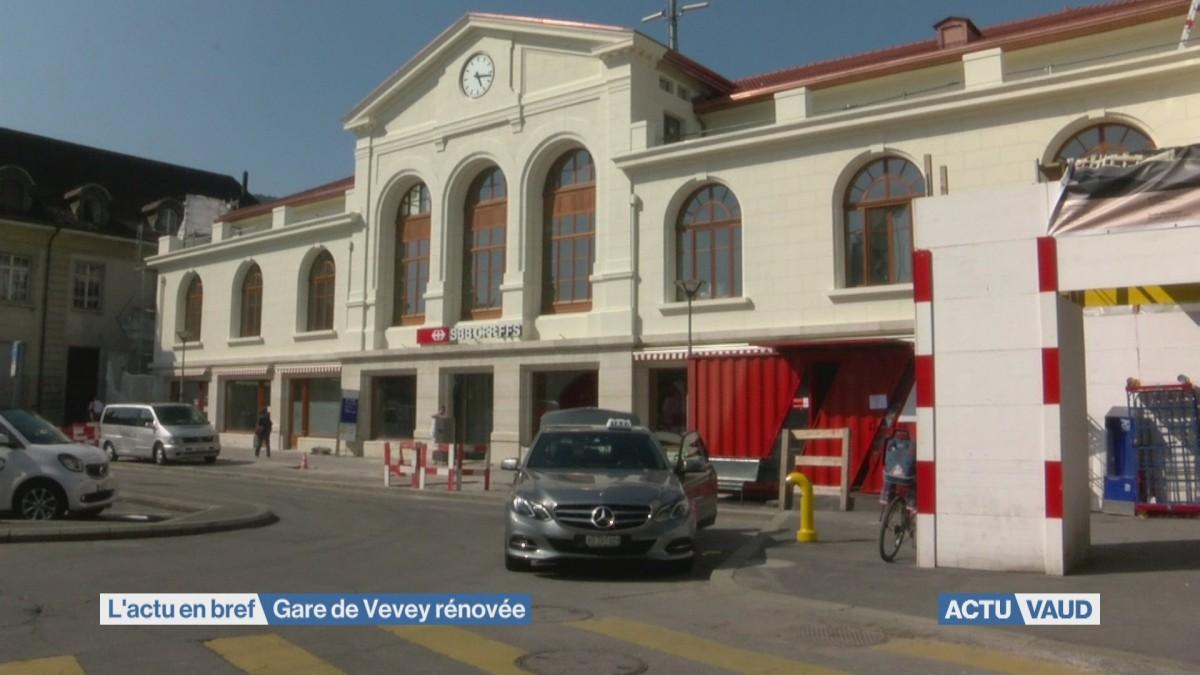 Gare de Vevey rénovée