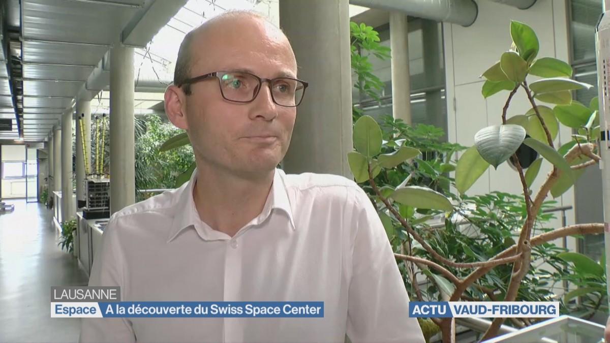 A la découverte du Swiss Space Center
