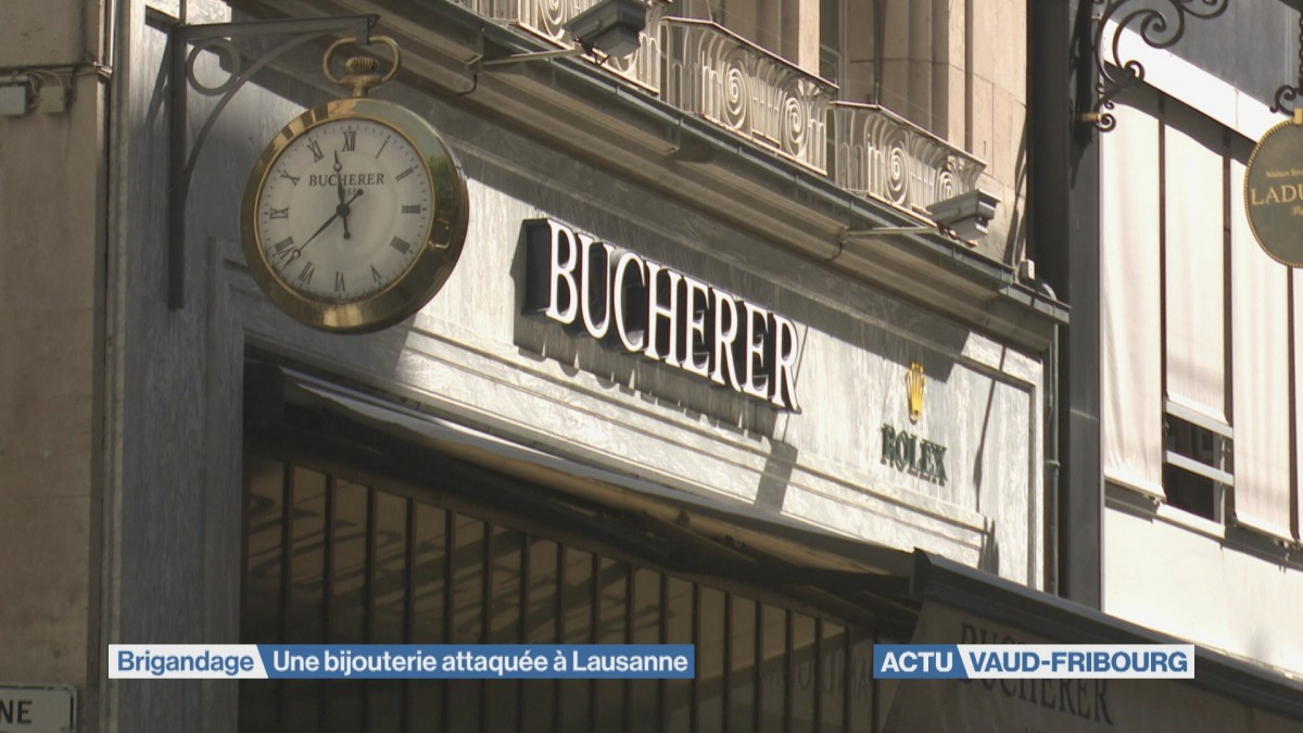 Brigandage à main armée dans une bijouterie à Lausanne