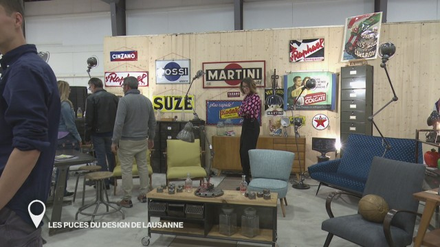 Les puces du design de Lausanne