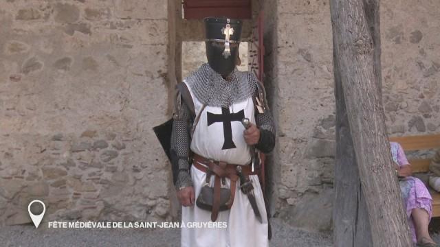 Fête médiévale de la Saint-Jean à Gruyères