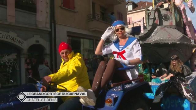 Le grand cortège du carnaval de Châtel-St-Denis