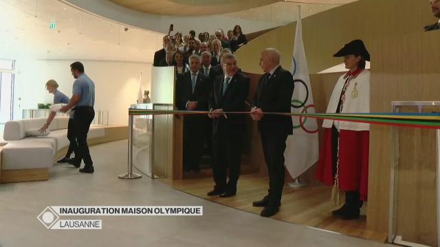 Inauguration de la Maison Olympique - Partie1