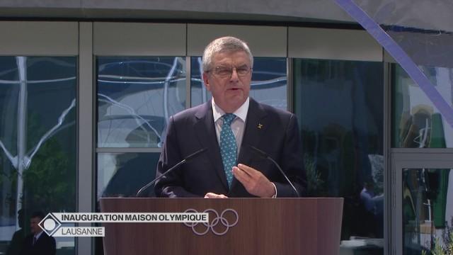 Inauguration de la Maison Olympique - Partie 2