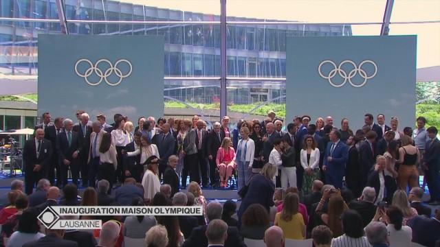 Inauguration de la Maison Olympique - Partie 3