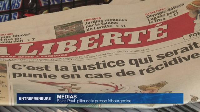 Saint-Paul: pilier de la presse fribourgeoise