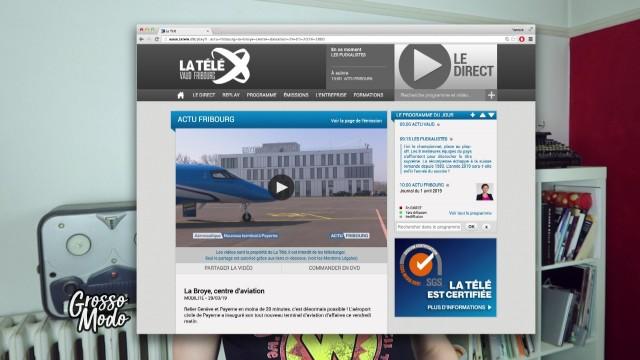 Un aéroport d'affaires à Payerne