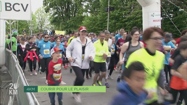 20KM - Courir pour le plaisir - 4km