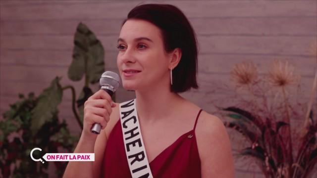 Miss Vacherin veut plus que la paix dans le monde