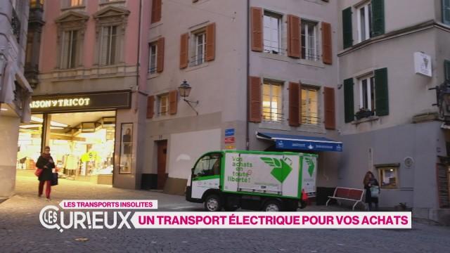 Un transport électrique pour vos achats