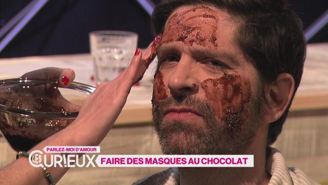 Faire des masques de beauté au chocolat
