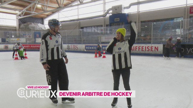 Devenir arbitre de hockey