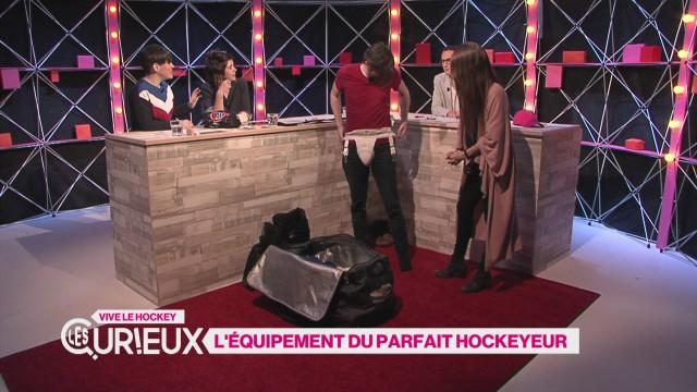 L'équipement du hockeyeur