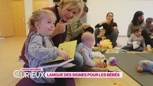 Langue des signes pour les bébés