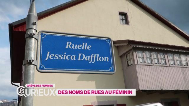 Des noms de rues au féminin