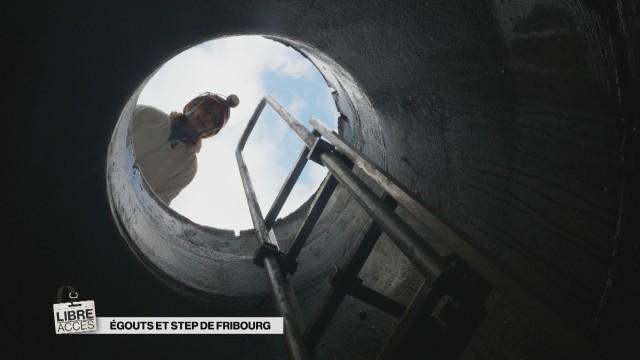 Libre accès dans les Égouts et à la STEP de Fribourg