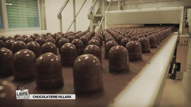 Libre accès à la Chocolaterie Villars