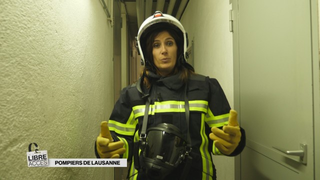Libre accès à la caserne des pompiers de Lausanne